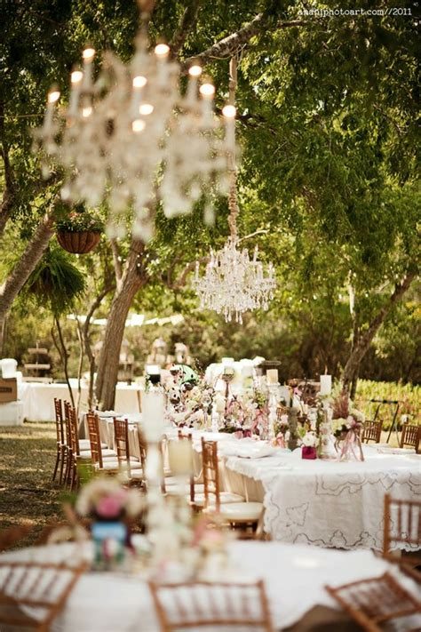 backyard wedding reception decorations spring summer outdoor wedding inspiration soundsurge