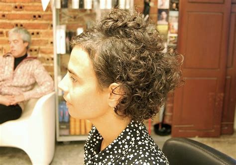 very short hair twist on older women curly haircut with an edgy twist hairstyles weekly