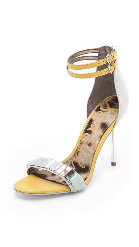 sam edelman high heels sam edelman high heel sandals in white mint