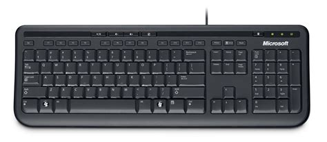 Microsoft Wired Keyboard 600 desktop