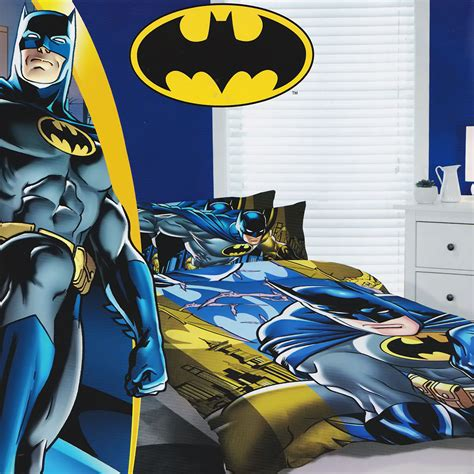 Batman Quilt Cover by Batman Quilt Doona Duvet Cover Set Boys Bedding
