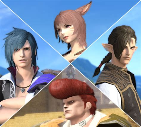 ffxiv haircuts i need help finding a hairstyle