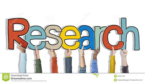 background research research word concepts isolated on background stock photo