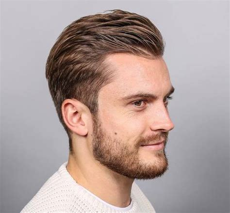 the top 20 men s hairstyles for thin hair throughout short 40 best haircuts for a receding hairline the right