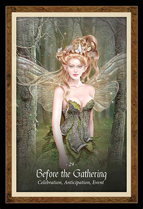 the faery forest an the faery forest oracle cards deck lucy cavendish maxine gadd