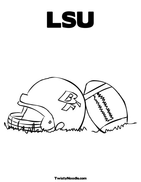 lsu coloring pages