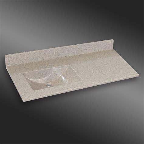 61x22 vanity top single sink malibu center basin pg907 willow mist 61x22 inches 61c
