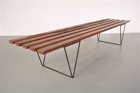 day bench slate bench by robin day circa 1950 for sale at 1stdibs