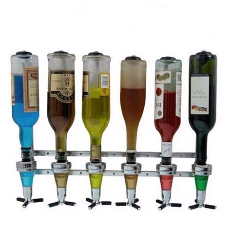 Dispenser Cina Murah 4 bottle bar beverage liquor dispenser drink