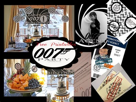 themes by james liberation code 007 james bond party free templates for invites finger