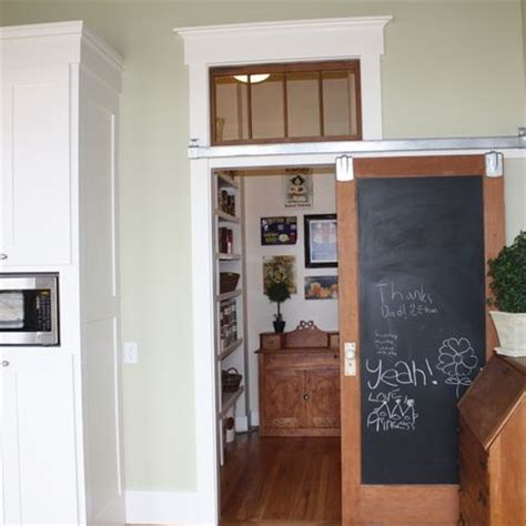 sliding chalkboard barn door for the kitchen cabinet decoist 44 best arts and craft doors images on pinterest