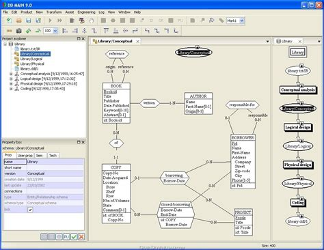 data modeling tool db 9 1 6 free