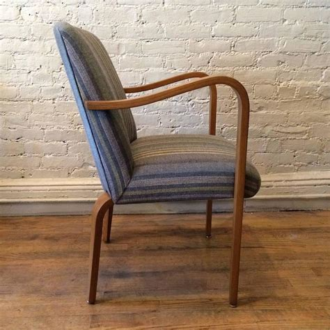 bentwood armchair upholstered bentwood maple armchair by thonet for sale at