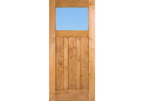 Craftsman1liteclear Knotty Alder Craftsman 1 Lite Door 4 Doors Exterior