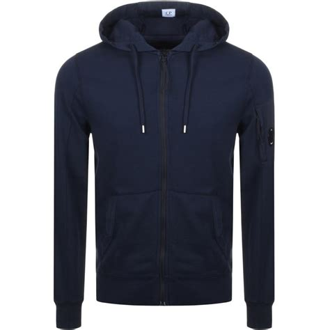 Cp Hoodie Ccc Navy c p company cp company zip goggle hoodie navy in blue