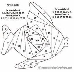 iris folding templates fish free printable iris folding patterns quilt how to s