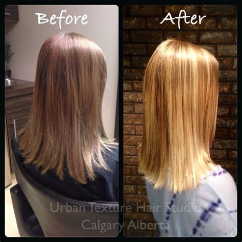 where to place foils for ombre we just added some blonde ombr 233 foils to give her