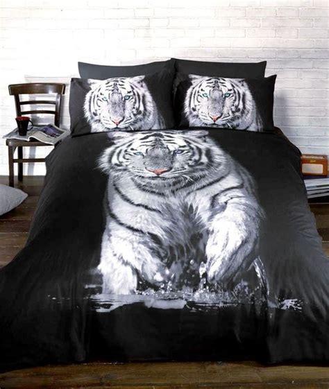 dekbed 140 x 200 2 persoons bol witte tijger 1 persoons dekbedovertrek tijger