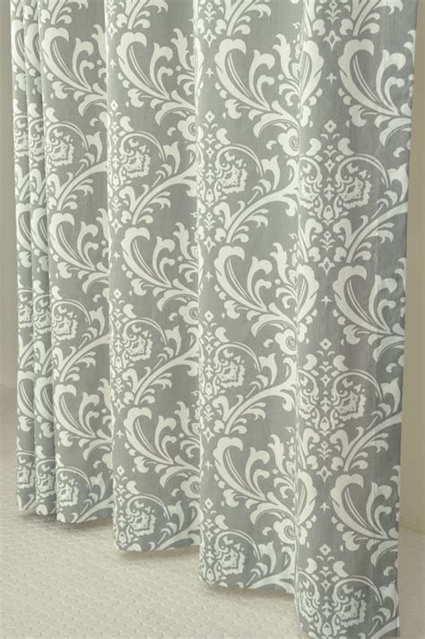Grey Damask Curtains pin by hamm on furniture decor house