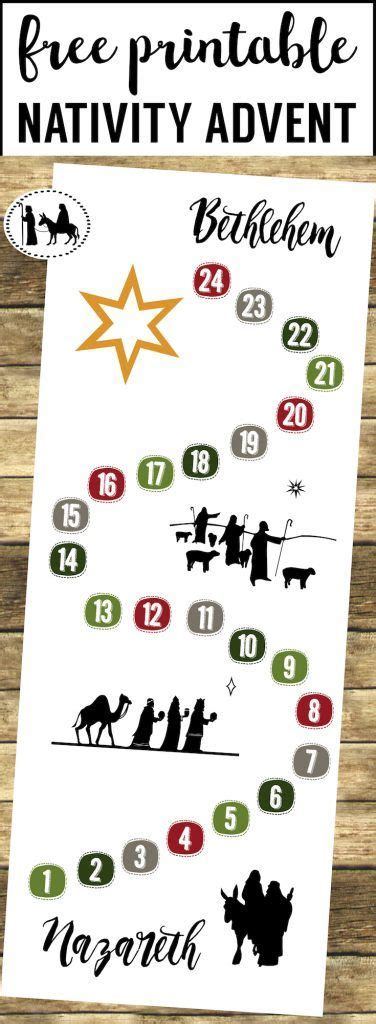 free printable nativity advent calendar 424 best free printables from paper trail design images on