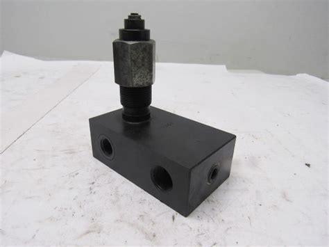 parker prs pressure reducing hydraulic valve bullseye industrial sales
