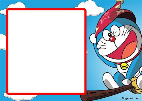 doraemon birthday card template free printable doraemon birthday invitations bagvania