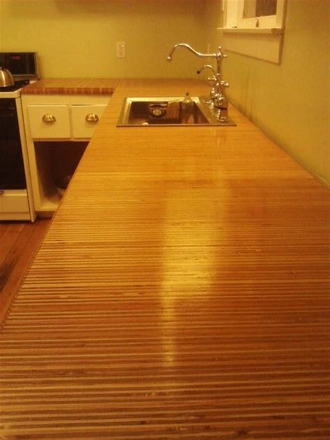 Plywood Countertop Finish by 404 Not Found