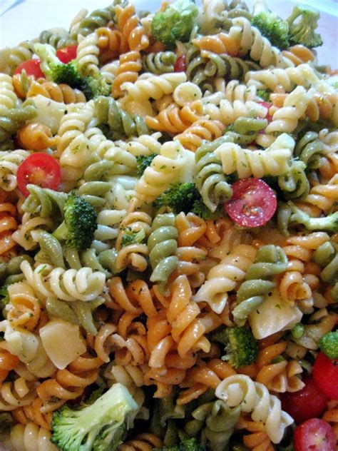 pasta salad dressings pasta salad with homemade italian dressing karla m curry