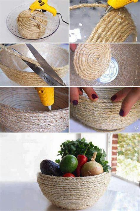 Diy Home Decor Craft Ideas by Diy Rope Craft Projects To Do At Home