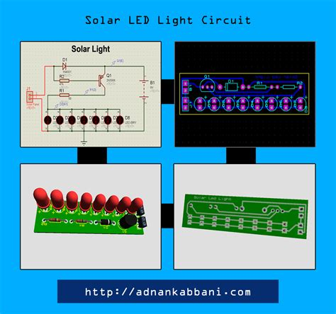 Electronics Circuits Design Pcb Adnan Kabbani Solar Led Light Circuit