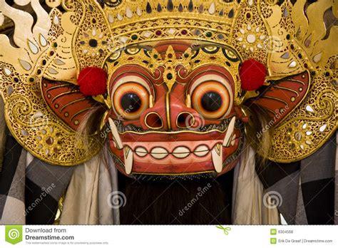 Barong Animated barong mask royalty free stock photos image 6304568
