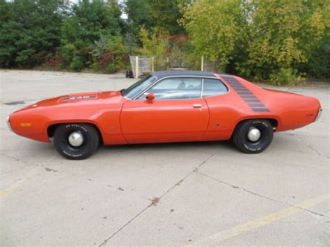 1972 plymouth roadrunner gtx for sale buy used 1972 plymouth roadrunner gtx original matching