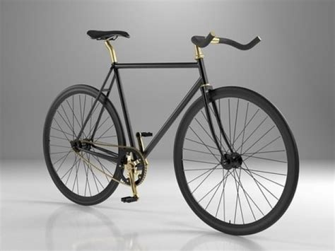 Flower Rattan Bike New Size 28 X 18 Cm fixie bike 3d model