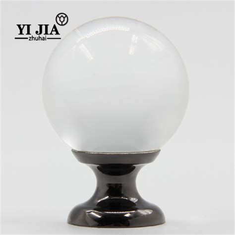 decorative glass knobs decorative kitchen cabinet knobs and pulls yijia crystal