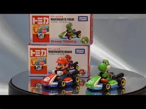 Mariokart8 Yoshi Tomica Diecast Miniatur Tomica Mario Kart Yoshi Mario Miniature Car