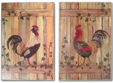 rooster home decor rooster kitchen on pinterest rooster decor roosters and