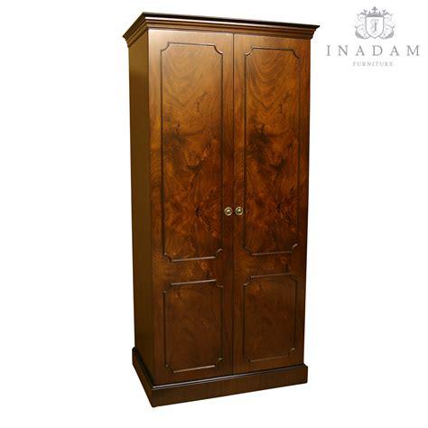 yew bedroom furniture inadam furniture classical 2 door wardrobe mahogany or