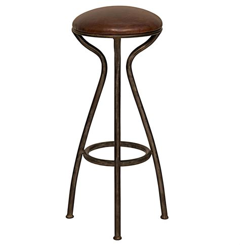 vintage steel industrial modern counter stool kathy kuo home talon industrial loft modern metal leather counter stool