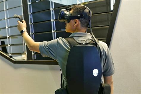 alienware vr backpack pc a take on hassle free