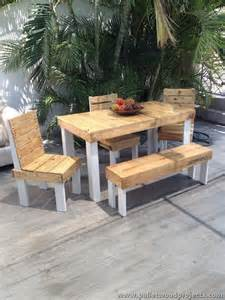 Wood Pallet Patio Furniture Patio Furniture Made From Wooden Pallets Pallet Wood Projects
