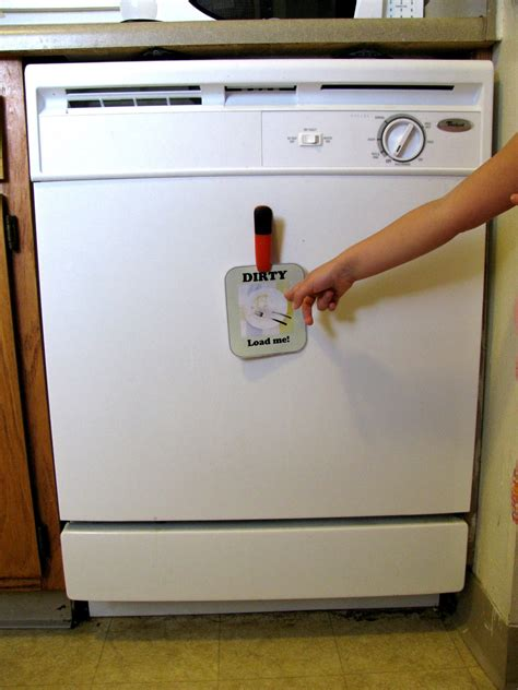 Clean Dishwasher Magnet Printable
