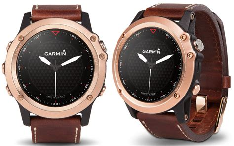 Garmin Fenix 3 Saphire Gold garmin fenix 3 sapphire gold premium gps launched in india for rs 84999
