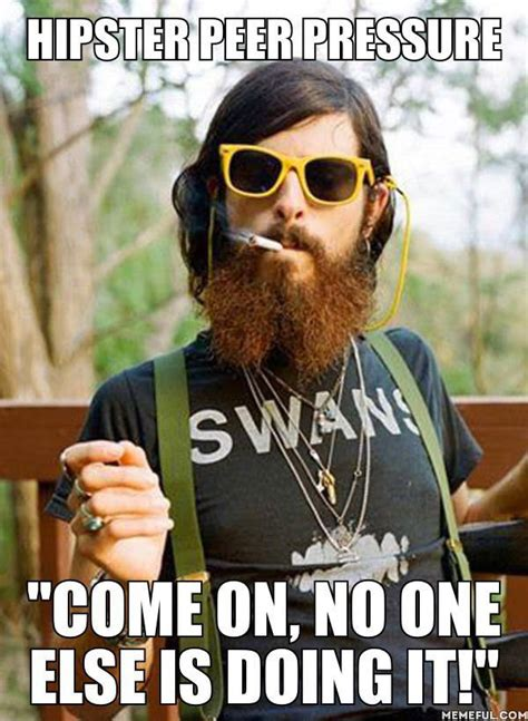 No Beard Meme - how to wear a beard without being a hipster