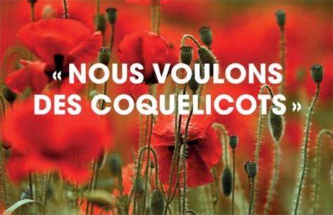 Culture Coquelicot Interdit by Malo Ils Disent 171 Non 187 Aux Pesticides Actu Fr