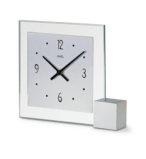 Pendule Design A Poser by Pendule 224 Poser Moderne Cadran Gris Aluminium
