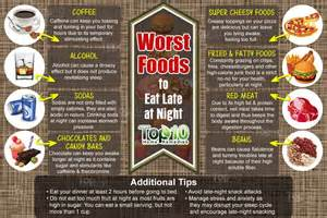 Caffeine Before Bed Worst Foods To Eat Late At Night Top 10 Home Remedies
