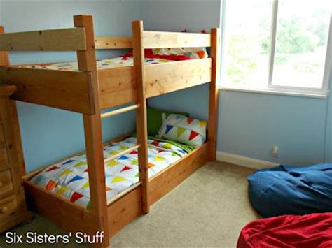 low to the ground bunk beds pin by amanda smith on boys room pinterest