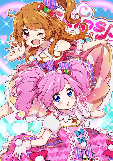 Aikatsu Season 2 Versi 1 Sweet Top 1 Idol Are The Best Aikatsu Awwnime