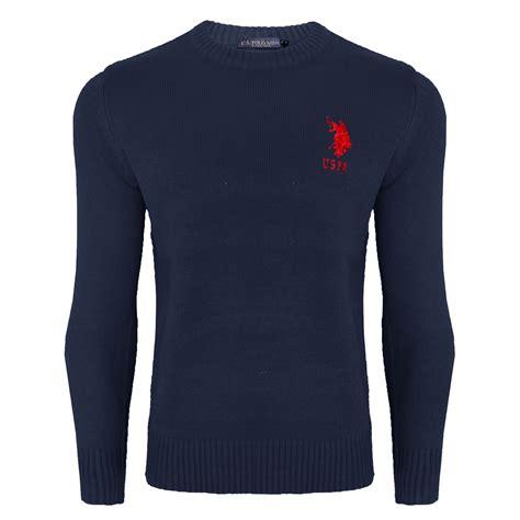 Jaket Sweater Hoodie Jumper Polos Cotton Fleece Premium Hitam mens us polo assn cable knit sweater jumper sleeve crew neck warm top ebay