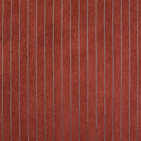 red stripe upholstery fabric spice red stripe chenille upholstery fabric